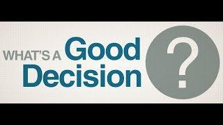 Decision Focus 01 - Decision Chain #decisionmaking