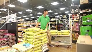 [공장물류시스템]과일농장,농산물,식자재 운반카트 전용