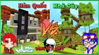 Mini World vùng đất chết : tập 5 Thi xây nhà với rein | Phong Cận Tv