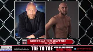 Frank Trigg pre-fight interview with UFC 214's Josh Burkman