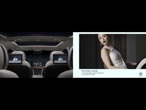 Volkswagen T-Prime Concept GTE Design Film   Beijing 2016