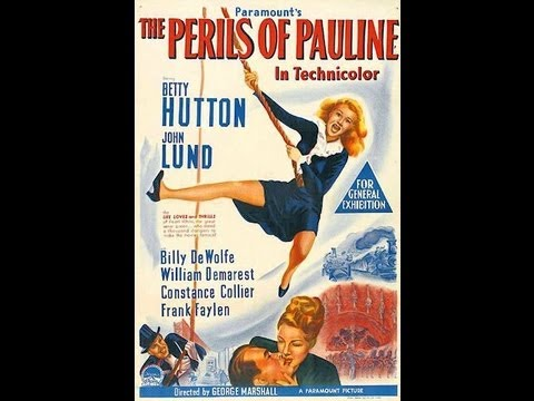 LOS PELIGROS DE PAULINA (THE PERILS OF PAULINE, 1947, Full movie, Spanish, Cinetel)