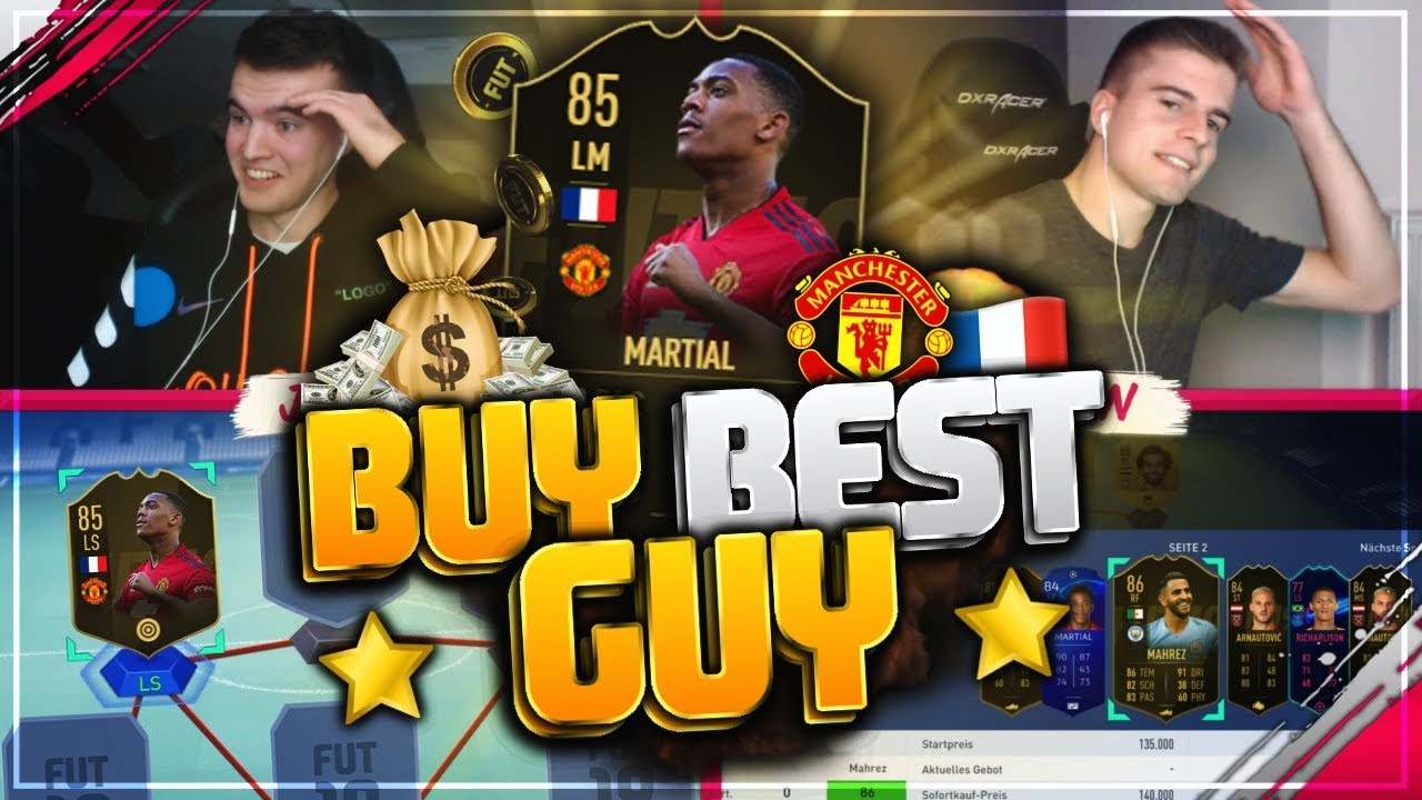 FIFA 19: Inform MARTIAL Premier League BUY BEST GUY