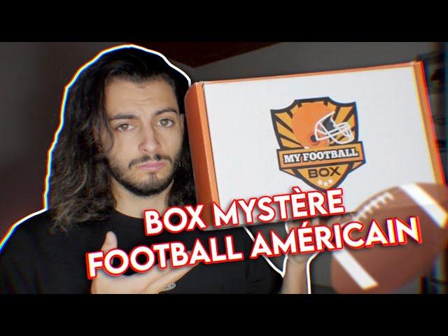 J'OUVRE UNE BOX MYSTÈRE FOOTBALL AMÉRICAIN 🤯