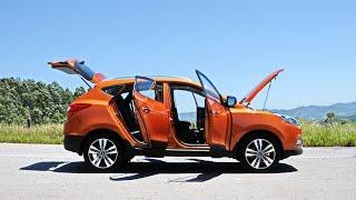 Hyundai iX35 no uso com Bob Sharp