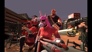 TF2 :The Best MvM Team (FT. Captain Inn-Zhano Esquire,BonOakley & Jensille)