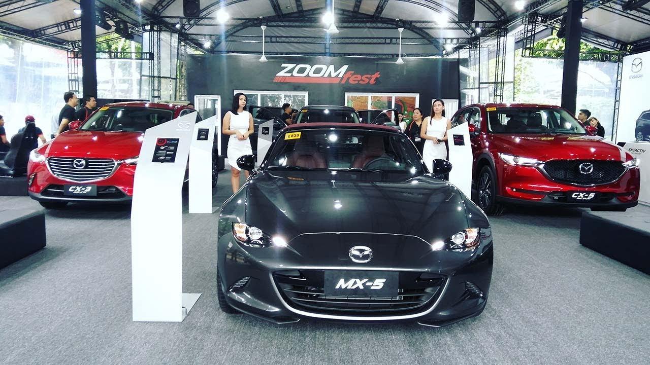 auto focus   industry news: mazda zoom fest 2018 - youtube