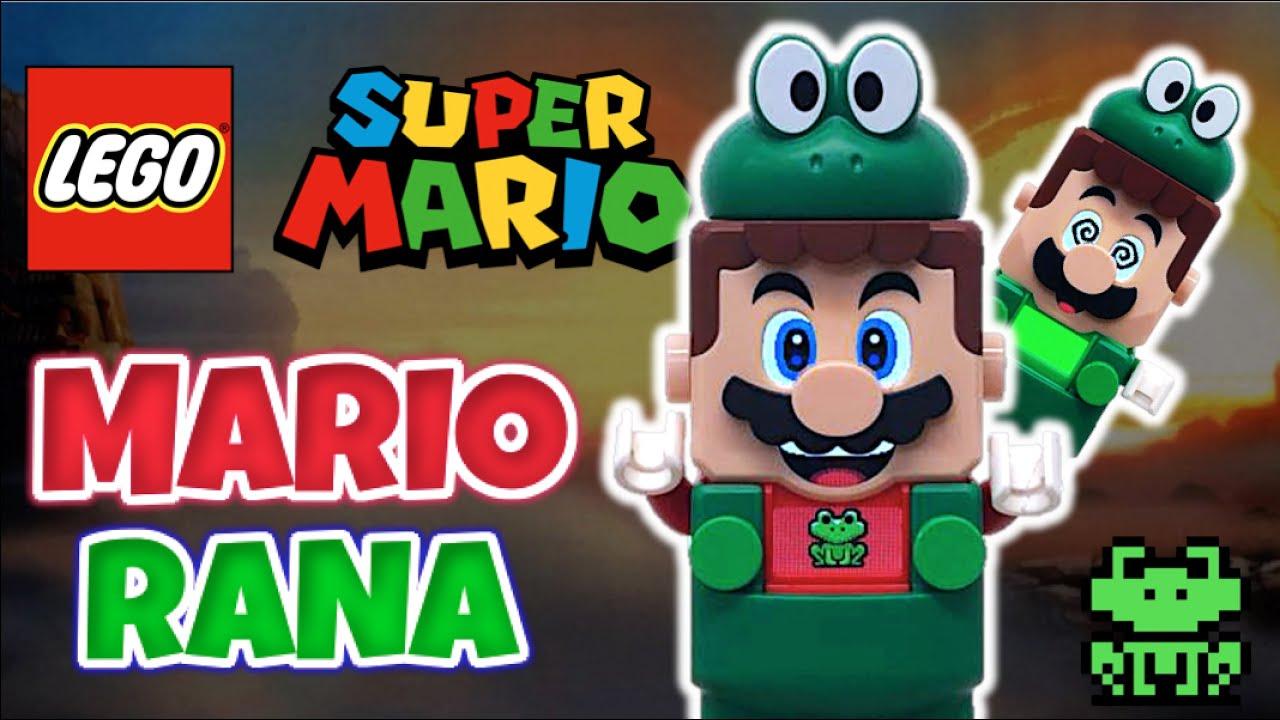 LEGO SUPER MARIO 3 - TRAJE de RANA   Pack Potenciador (Reseña 2021) Nintendo - TOY SHOTS
