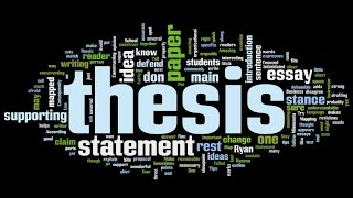 How to choose a thesis topic(, 2014-10-11T09:35:24.000Z)