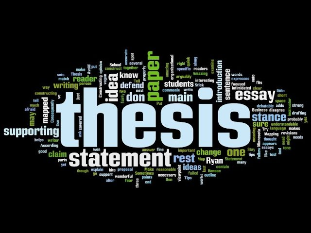 How To Choose A Thesis Topic Youtube