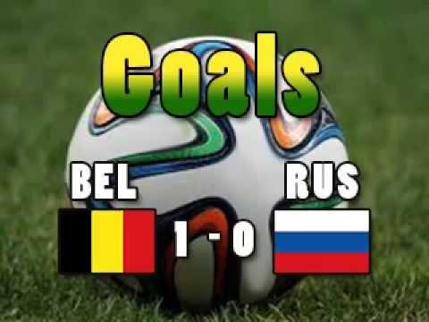 Goal BELRUS Belgium 1 Russia 0 ORIGI CM2014 Wordcup2014