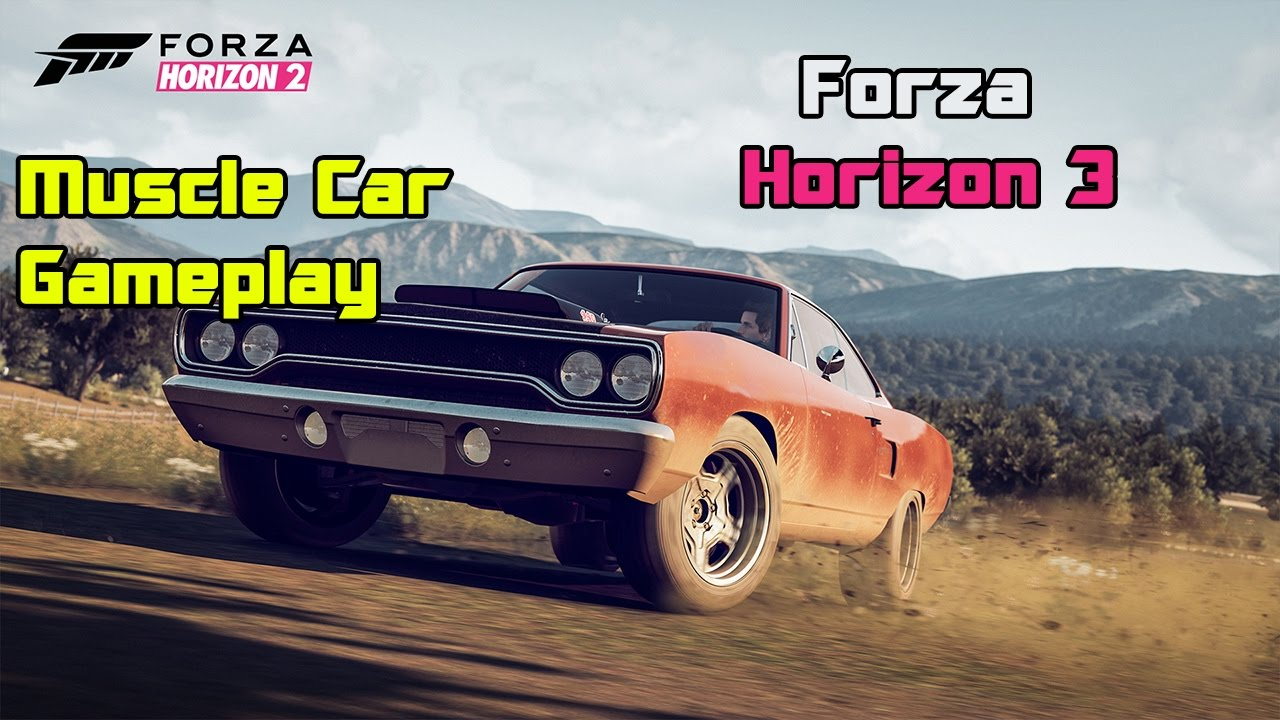 Forza Horizon Muscle Car Gameplay Xbox One Pc Youtube