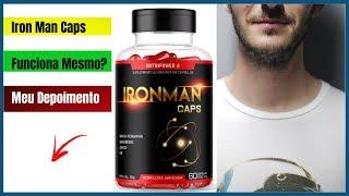 Iron Man Caps Funciona? Iron Man Caps Meu Depoimento - Iron Man Caps Onde Comprar
