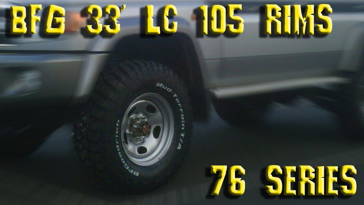 Landcruiser 76 Series 285 75r16 Bfgoodrich Km2