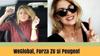 VLOG! We Global party, Forza Zu si Peugeot 308! | Laura Musuroaea thumbnail