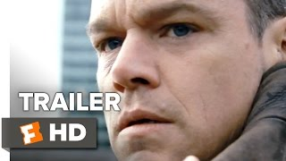Jason Bourne Official Trailer #1 (2016) - Matt Damon, Alicia Vikander Movie HD
