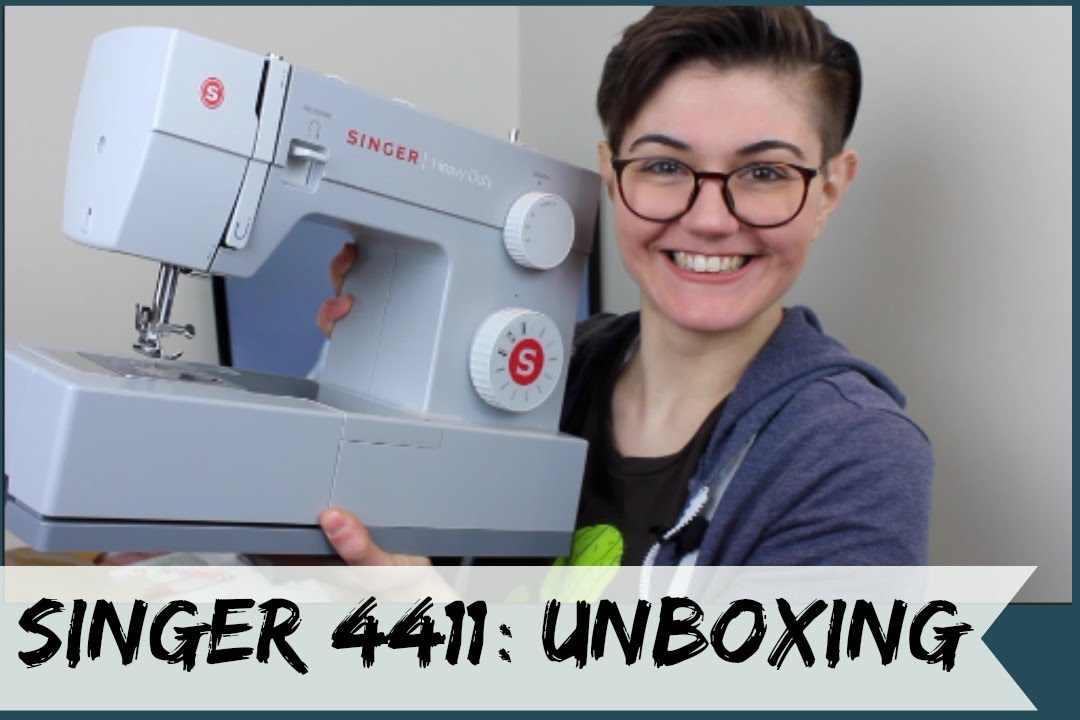 Singer 40 Heavy Duty Unboxing YouTube Interesting Singer 4411 Sewing Machine