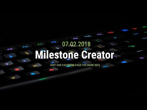"""Welcome To """" Milestone Creator """" [ The Better Place To Learn Something New ]"""