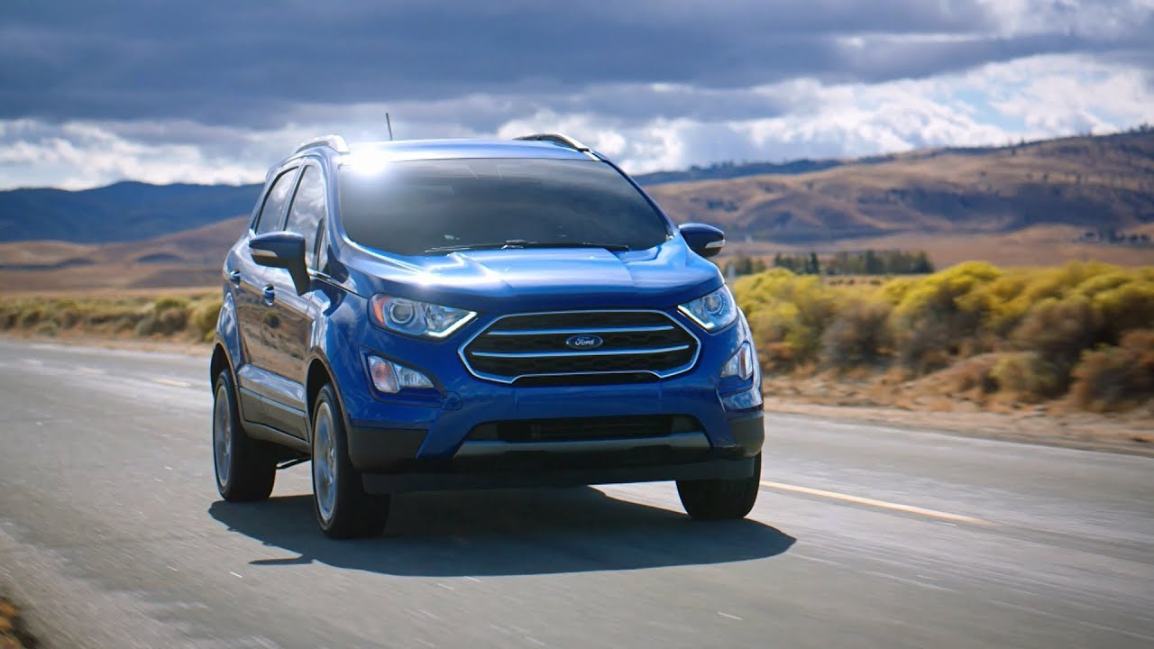 2018 Ford Ecosport Driving Footage