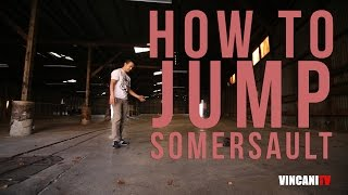 Nauka Breakdance: How To Jump Into A Somersault