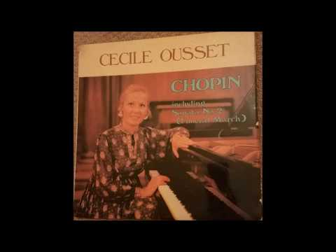 Cécile Ousset plays Chopin (1/4)