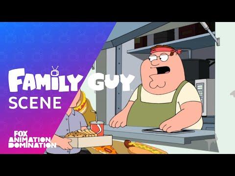 Peter Serves A Customer At His Food Truck | Season 15 Ep. 16 | FAMILY GUY
