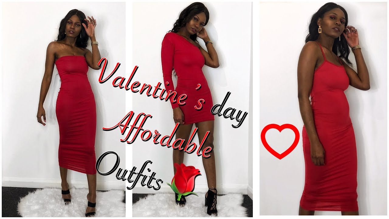 eb166e80d7e92 Best believe I brought 3 dresses for only £17.97/ valentine's Day outfits/  Femme Luxe