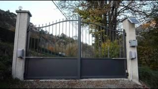 automatisme de portail solaire nice popkit solemyo 65 hautes pyrénées