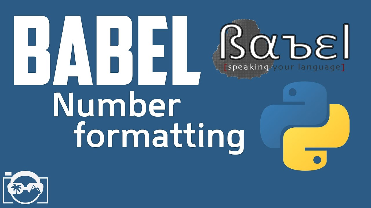 Download Babel in Python - Work with number formatting in Babel for Python