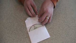 How to Make a Paper CD Case Video #1