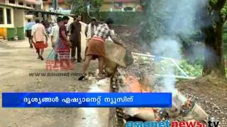 Sabarimala News: Bad Aravana container fired , Footage on Asianet News