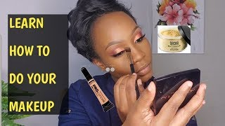 HOW TO DO MAKEUP STEP BY STEP/DATE NIGHT MAKEUP USING MY FAVORITE MAKEUP PRODUCTS/ Jalia Walda