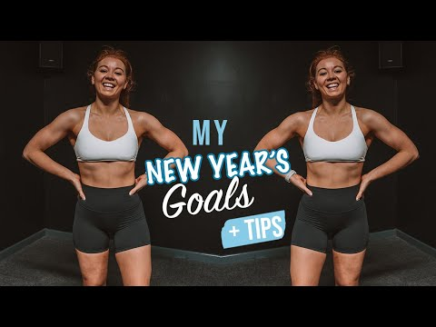 My New Year's Resolutions! & Tips To Make Yours | Health, Lifestyle, Fitness