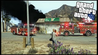GTA 5 ROLEPLAY - SETTING FIRES TO GET GOOD FOOTAGE! (STRINGER) - EP. 971 - AFG -  CRIMINAL