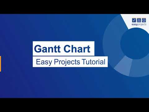 Easy Projects Interactive Gantt Chart Tutorial