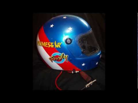 Introduction to Sports Memorabilia-Ted Musgrave 1996 Race-Worn and Signed Helmet