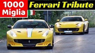 Ferrari Tribute to 1000 Miglia 2019 - Day 2 - Gambettola - 812 Superfast, LaFerrari, F40, 488 Pista