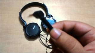sony mdr xb250 extra bass sterero headphone review