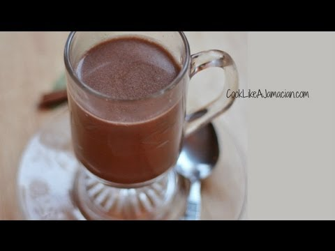 jamaican hot chocolate recipe video youtube