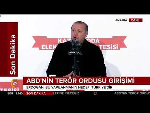 #SONDAKİKA Cumhurbaşkanı Erdoğan: Bize düşen terör ordusunu boğmaktır