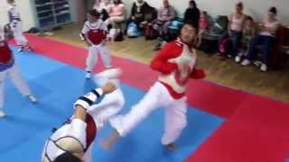 Mesut Öztürk  -  Nurullah Yıldız Taekwondo Müsabakası