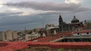 Ovni en la Ciudad de México Julio 2020 Centro Histórico