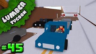 Lumber Tycoon Ep. 45: Gebäude Garage Innen! | Roblox