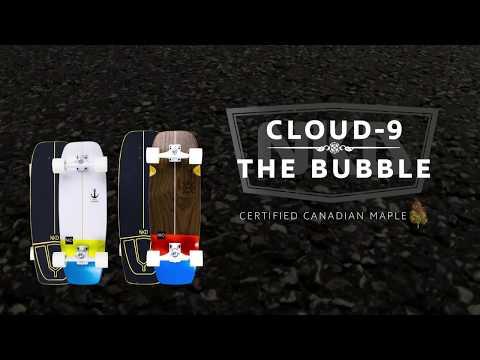 NKD Cloud 9 + NKD The Bubble Surfskate
