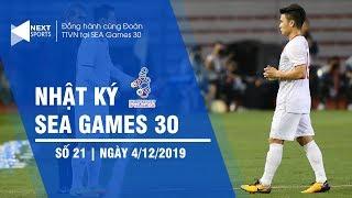 Nhật ký SEA Games 30 trưa 4/12 | Quang Hải chấn thương, sớm chia tay SEA Games 30? | NEXT SPORTS