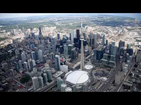 Toronto Downtown Helicopter Tour 2016