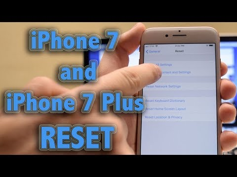 Hard Reset   How to reset and erase iPhone 7 and 7 Plus Recovery Mode