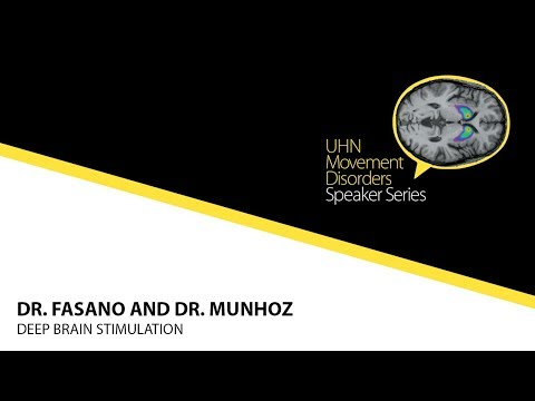 UHN Movement Disorders Speaker Series - Dr. Anthony Lang