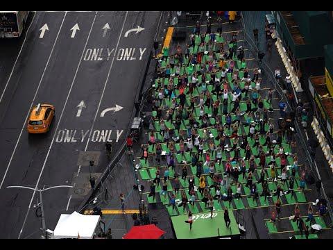 اليوم العالمي لليوغا تحت شعار- اليوغا من أجل السلام-  - نشر قبل 2 ساعة