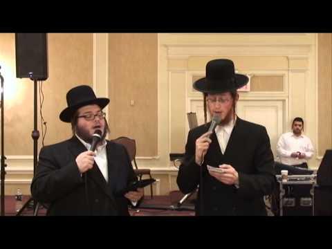 Levy Falkowitz Duet with Badchen Avrum Mordche Schwartz - Mitzvah Tanz